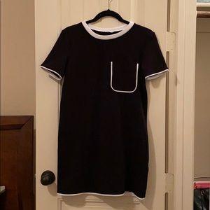 Zara Black&White Mini Dress
